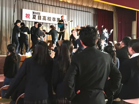 音楽祭をイメージしたシーンが一番エキストラが必要なのだとか。学生問わず多くの人に参加を呼びかけています。※写真はイメージ