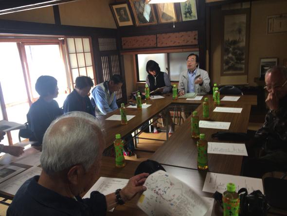 会議の様子。「まさかイベントになるとは・・・思っていませんでした(笑)」と橋本さん。