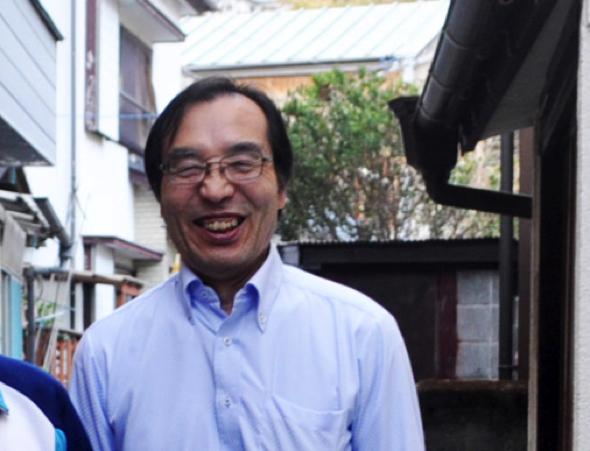 橋本さん。伊豆学研究会では、伊豆地域の文化財の保護・利活用や自然環境の保全・利活用などを行っている。