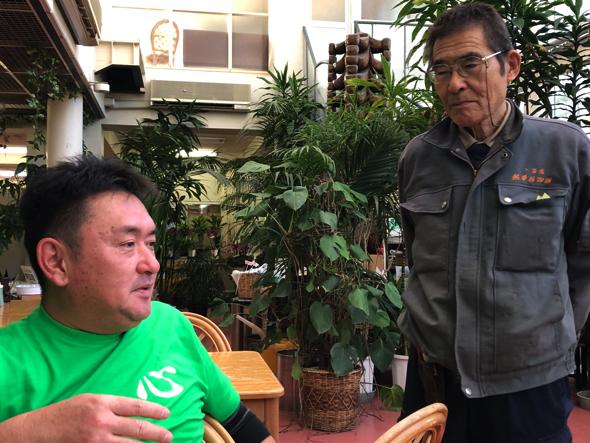 広和さんの父、2代目園長の和泉さんが出てきた。