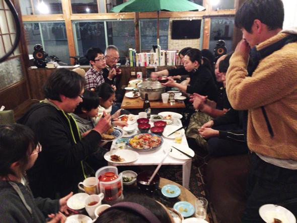 交流会の様子。参加された方は、東京、静岡県内、南伊豆在住の方などさまざまでした。