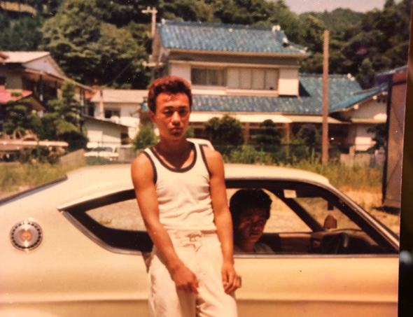 高校時代のお写真。やっぱりこわいよ土屋さん!