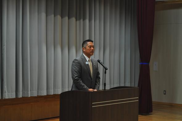 岡部克仁町長。2017年4月から南伊豆町町長に就任