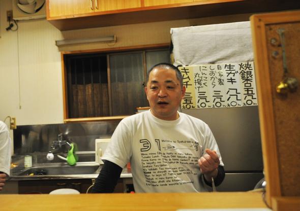 浩二さん:「南伊豆で料理屋をやってました」