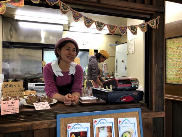吉澤真樹さん。2016年に南伊豆に夫婦で移住。