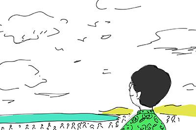 漫画!南伊豆新聞vol.6 〜夏の繁忙期はほぼ取材していません〜