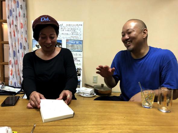 夫の和洋さんはゴミの分別や生き物に関する授業を行う